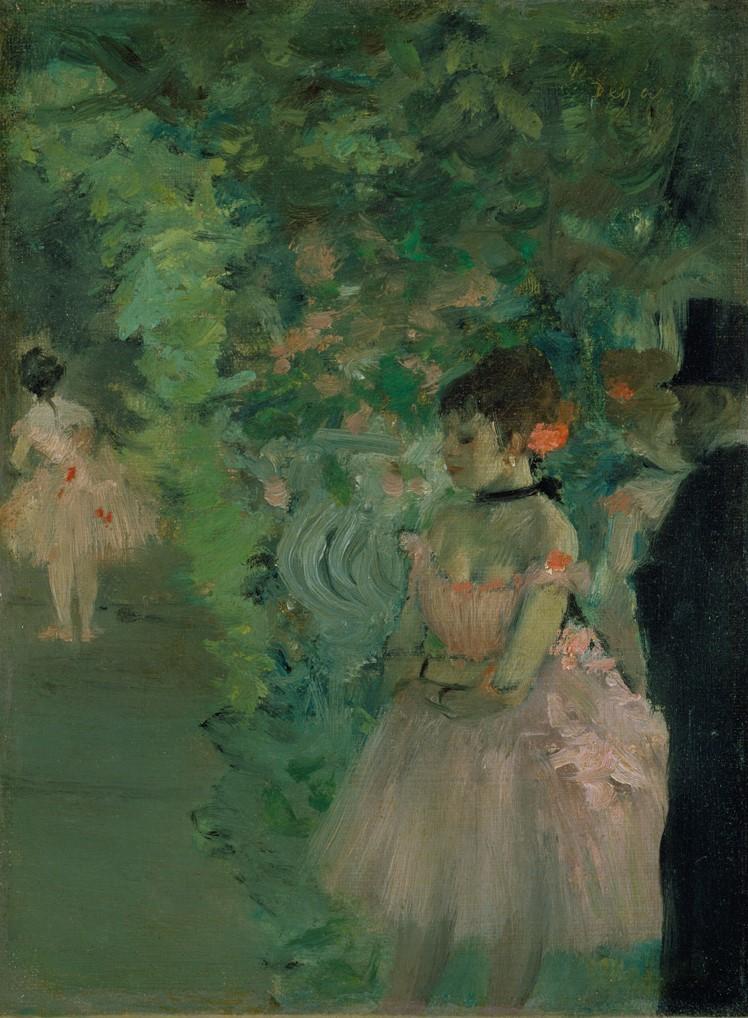 Edgard Degas - Ballerine dietro le quinte, 1876-83