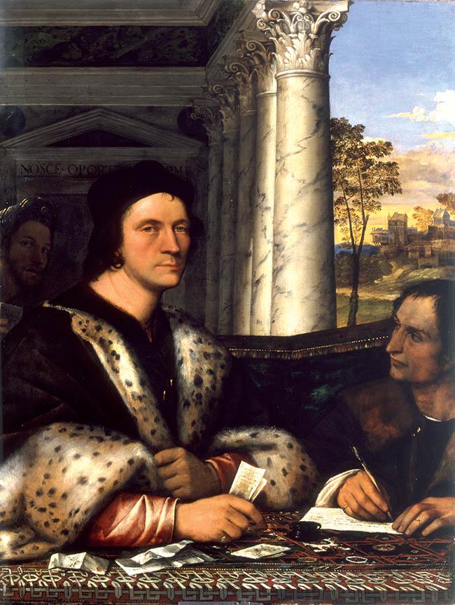 Sebastiano del Piombo,  Ritratto di Ferry Carondelet, 1511