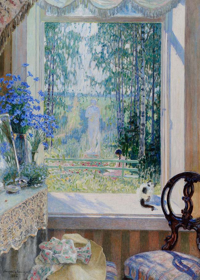 Nikolaj Bogdanov-Bel'skij: Estate, 1911, 165х117