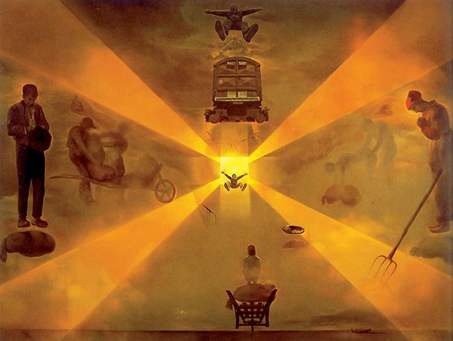 Salvador Dalí, La stazione di Perpignan. A questo dipinto potrebbe essersi ispirato il serial killer attivo nei dintorni della località francese
