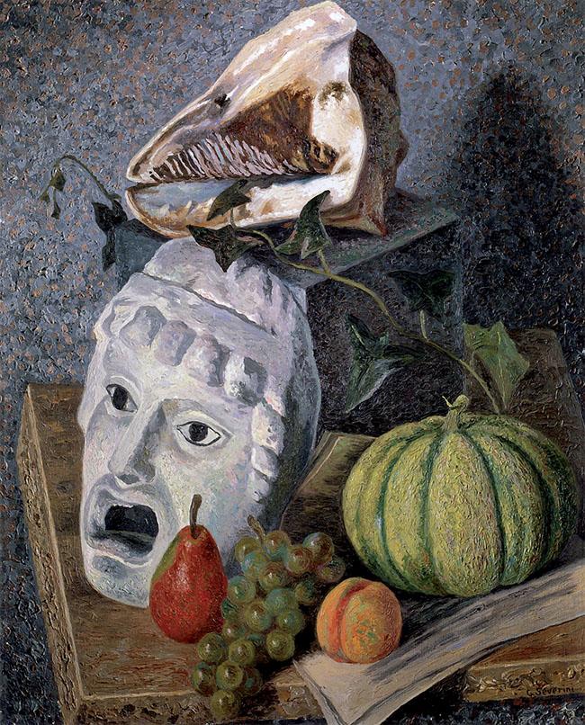 Severini, Natura morta con maschera, 1930-32
