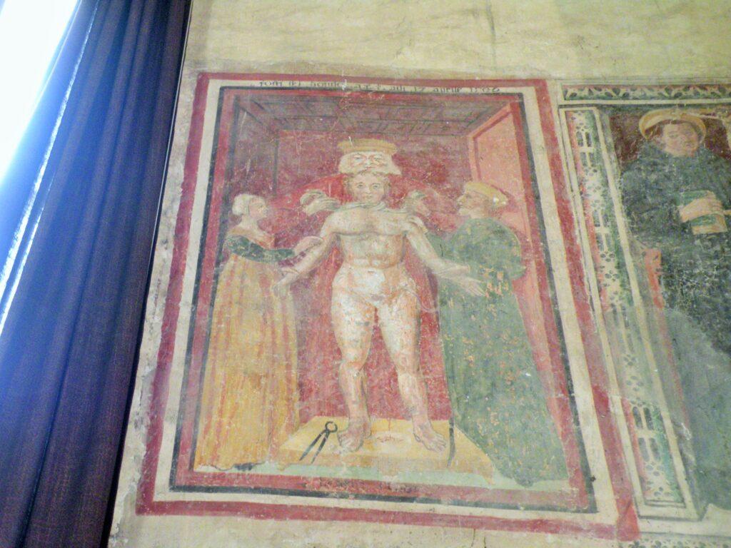 Il martirio del Beato Simonino, Gavardo, Santuario di San Rocco