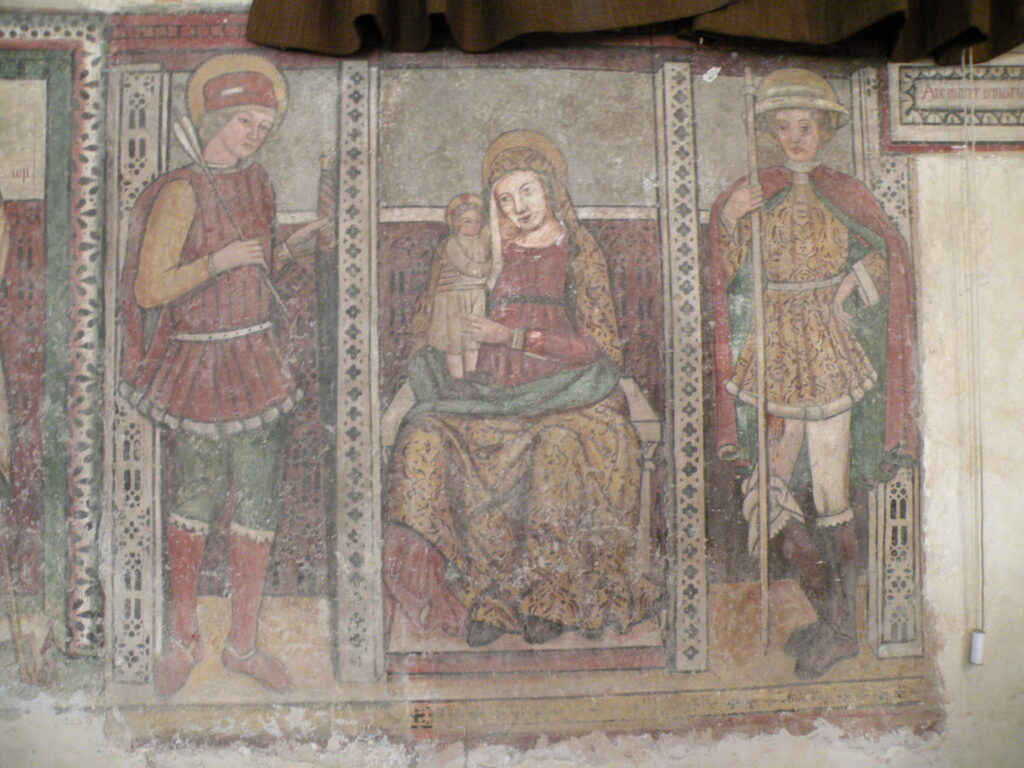 Madonna in trono, con i santi Rocco e Sebastiano, Santuario di San Rocco, Gavardo (bs)