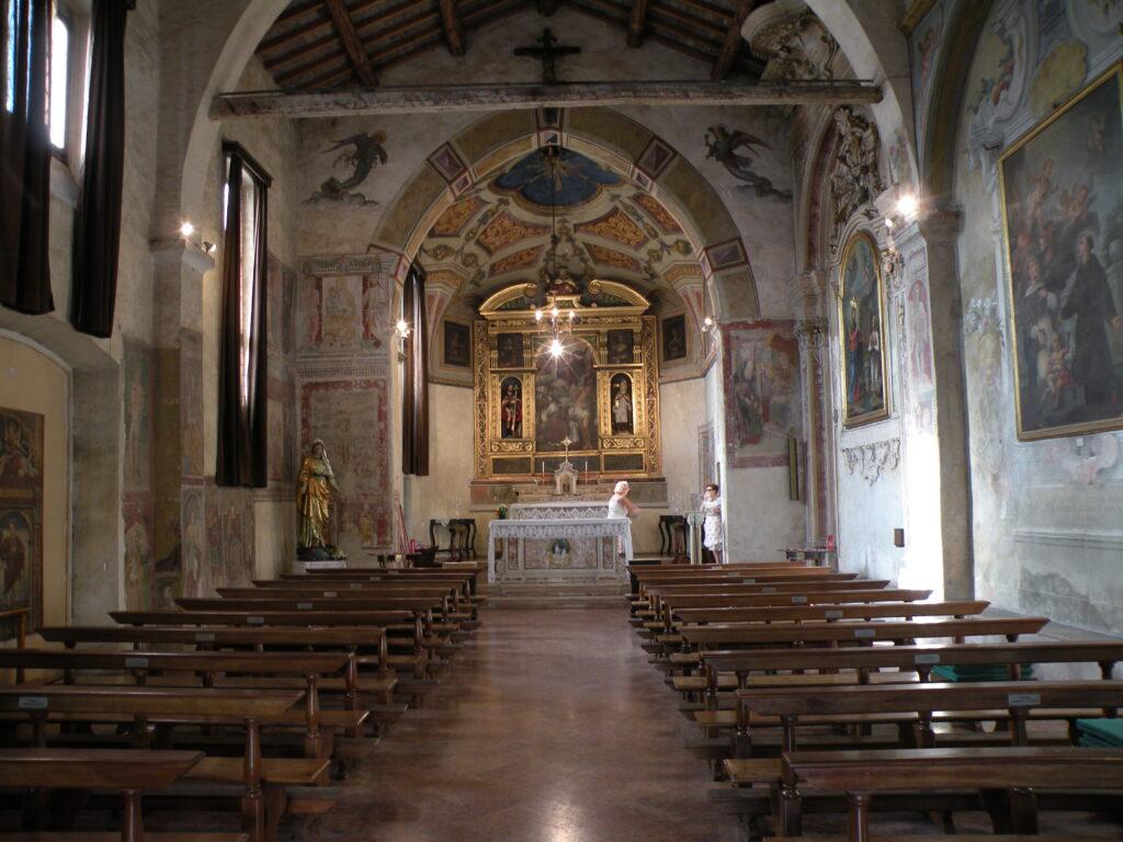 Il santuario di San Rocco a Gavardo, in provincia di Brescia