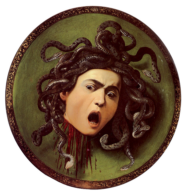 Caravaggio, Medusa