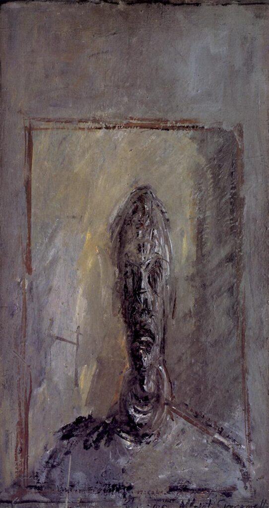 Ritratto di Diego, olio su tela, 1954