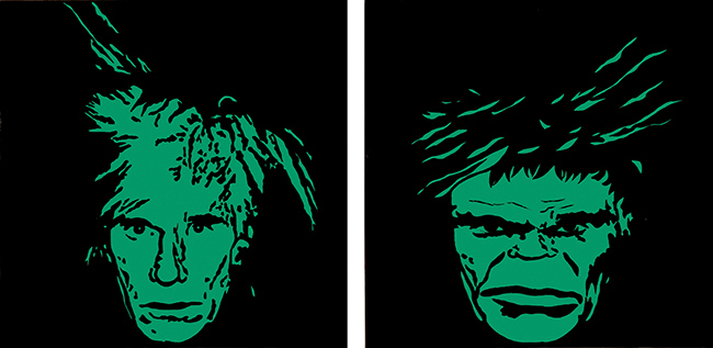 So What (Andy Warhol and Hulk).