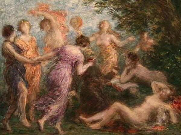 Henri-Fantin-Latour,(1836-1904), Le tentazioni di Sant'Antonio