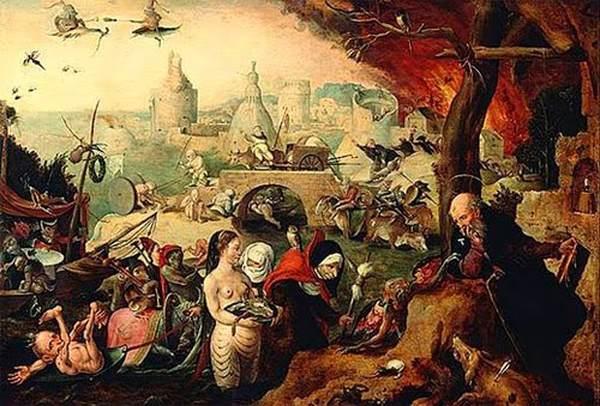 Pieter-Huys-1519-1584) Le tentazioni di Sant'Antonio, 1547.Le tentazioni di natura sessuale, nei dipinti relativia Sant'Antonio Abate, vengono illustrate, nel Cinquecento, accanto ad altri allettamenti e provocazioni demoniache. Con ilk passare del tempo, esse assumeranno soprattutto una caratteristica erotica