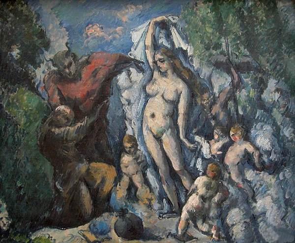 Paul Cézanne, 1875-77, olio su tela, 47×56 cm, Parigi, Musée d'Orsay