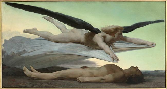 William Bouguereau (La Rochelle, 1825‐1905) Egalité devant la mort/ Uguaglianza davanti alla morte, 1848 olio su tela, cm 141 x 269, Parigi, Musée d'Orsay © Musée d'Orsay, Dist. RMN‐Grand Palais/Patrice Schmidt