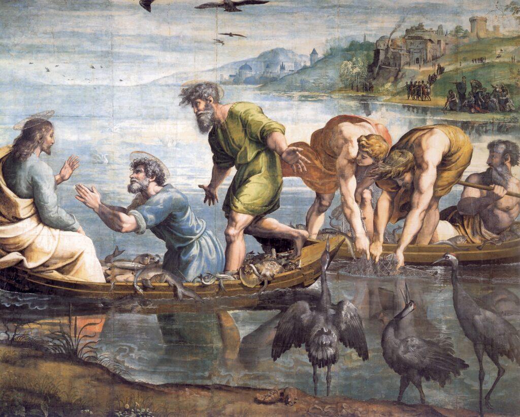 cartone della pesca miracolosa