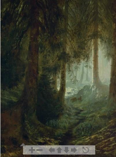 Il quadro di Doré che può essere sottoposto, dal lettore ad osservazione ravvicinatissima