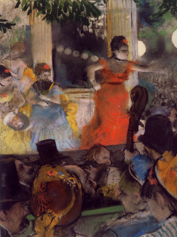 Edgar Degas, Il caffe-concerto agli ambassadeurs
