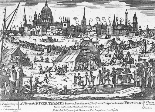 freddo tamigi 1814