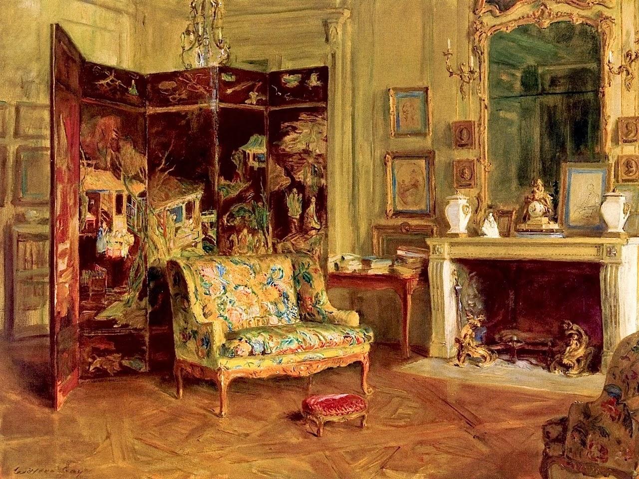 Walter gay impressionismo da camera gli interni pi for Corsi per arredatore d interni