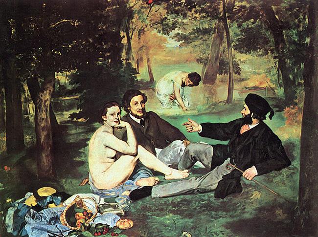 Édouard Manet, La colazione sull'erba
