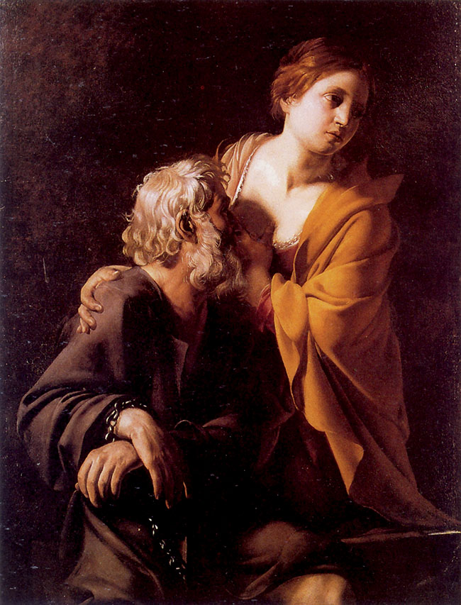 Bartolomeo Manfredi, La Carità