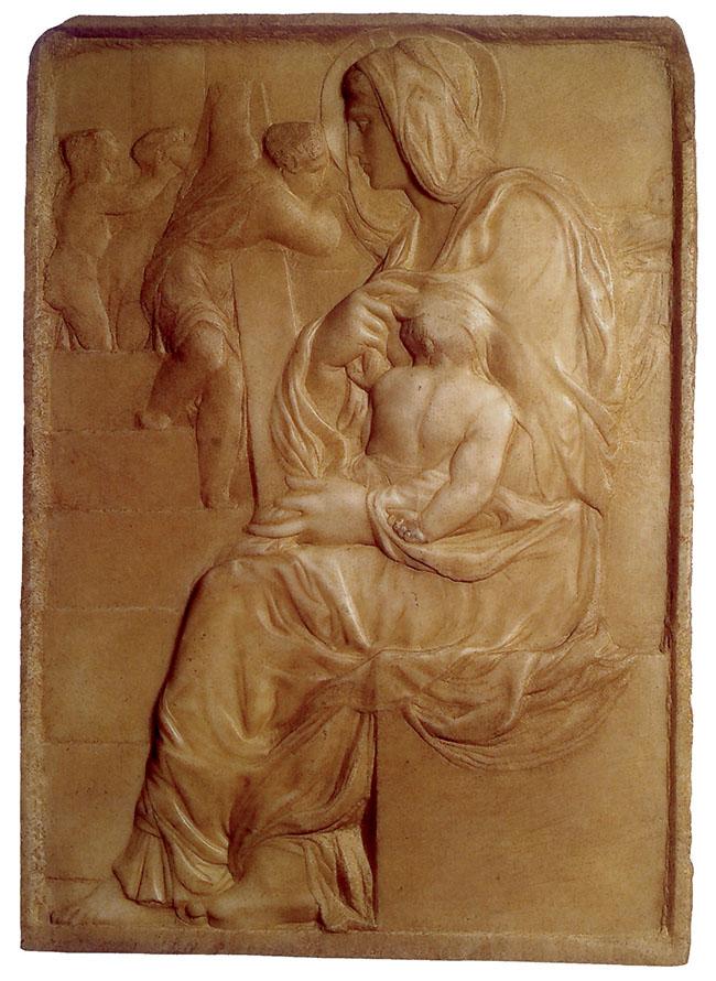 Michelangelo, Madonna della Scala, 1492 circa