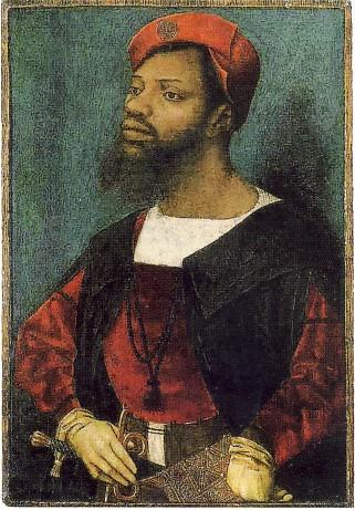 JAN MOSTAERT, Ritratto di uomo africano, 1520-30 ca., olio su tavola, 30,8 x 21, 2 cm, Amsterdam, Rijksmuseum