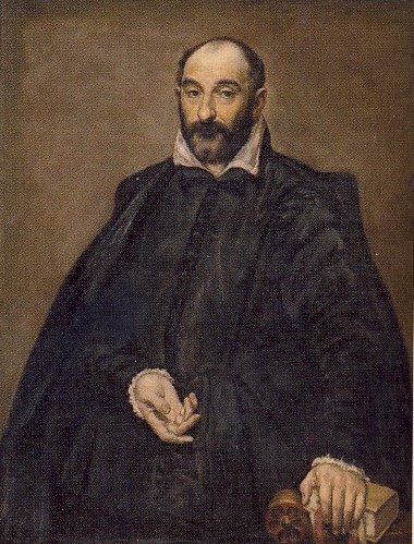 D.THEOTOKO'POULOS detto EL GRECO, Ritratto di Andrea Palladio, 1570, olio su tela, 116 x 98 cm, Copenhagen, Museo Reale