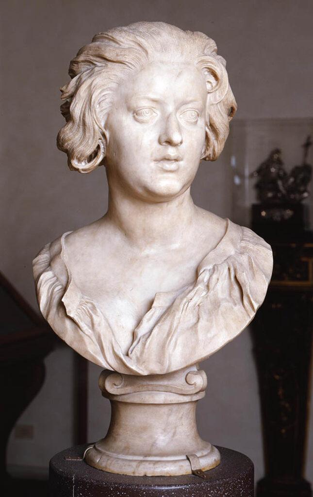 Gian Lorenzo Bernini Ritratto di Costanza Bonarelli 1635 ca., marmo Firenze, Museo Nazionale del Bargello S.S.P.S.A.E e per il Polo Museale della città di Firenze -  Gabinetto Fotografico