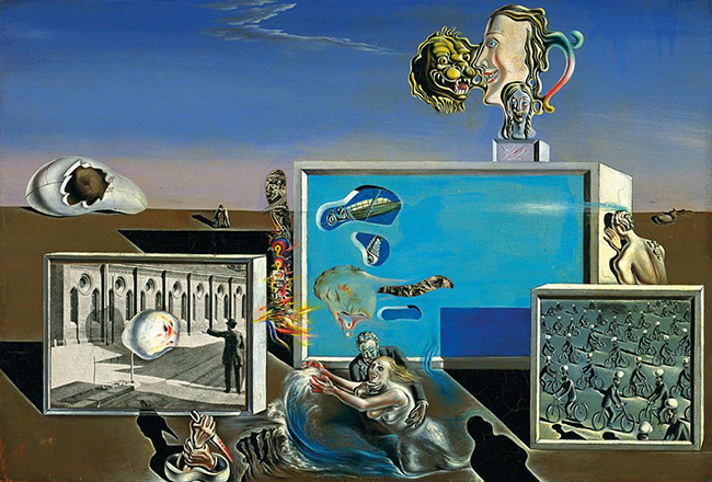 Salvador Dalí: Piaceri illuminati, 1929 New York, Museum of Modern Art. The Sidney and Harriet Janis Collection © Gala-Salvador Dalí Foundation, by SIAE 2015
