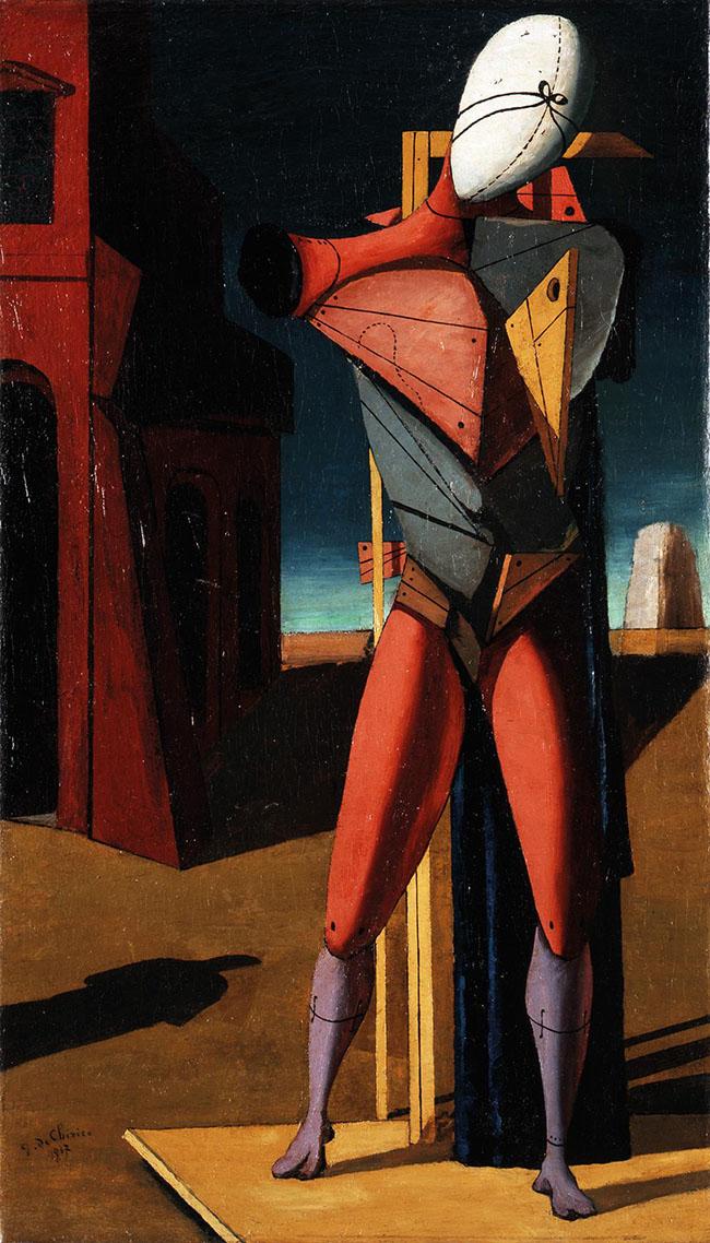 Giorgio de Chirico: Il trovatore, 1917 Collezione privata © by SIAE 2015