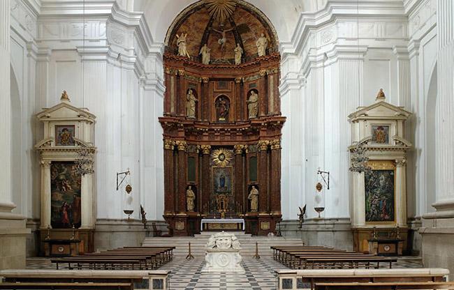 El Greco Toledo, chiesa e altari dell'Ospedale Tavera, 2007 stampa inkjet con inchiostri pigmentati
