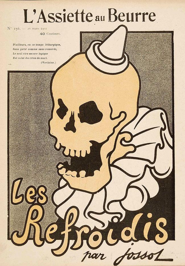 """Henri-Gustave Jossot: Les Refroidis, 1904 Rivista """"L'Assiette au beurre, n. 156, 26 marzo 1904"""