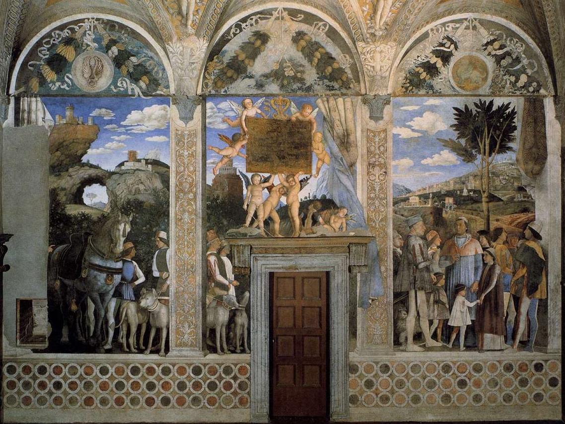 Camera degli sposi mantova qui tutte le info e il nuovo for La camera degli sposi di andrea mantegna
