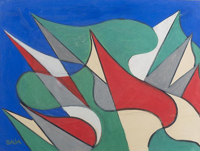 Giacomo Balla: Sventolio di bandiere