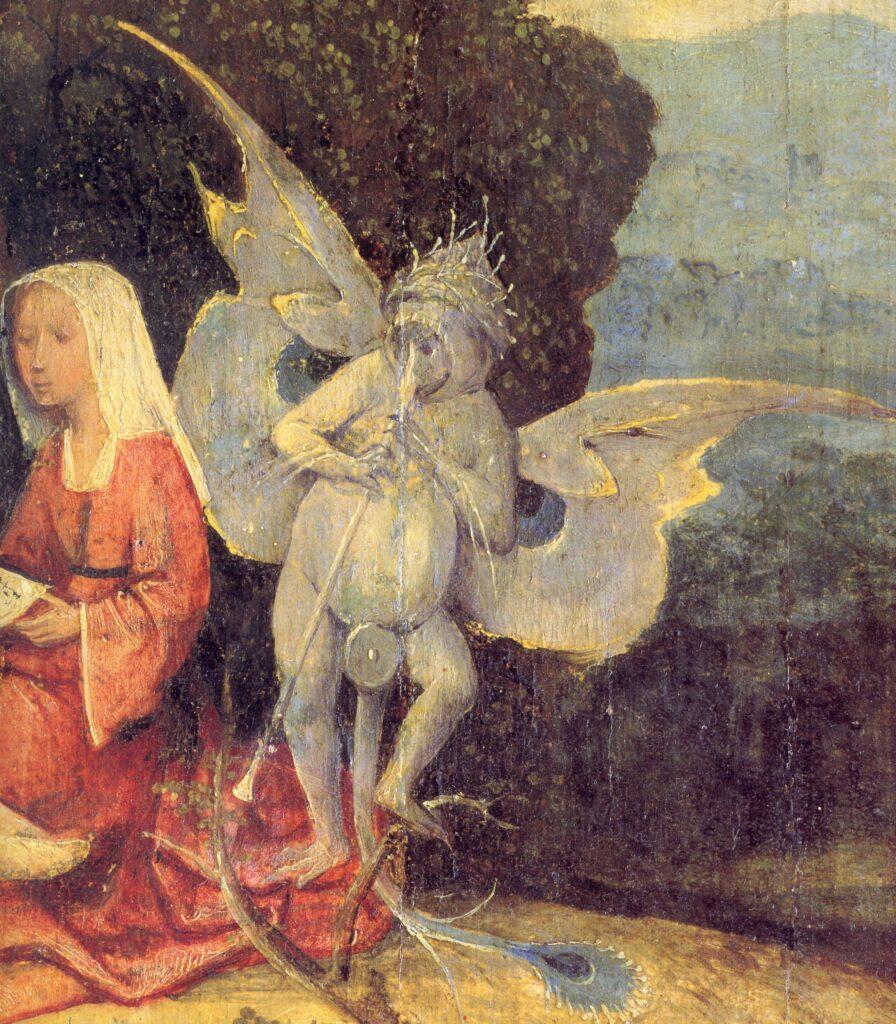 Hieronymus Bosch, Il carro di fieno, particolare