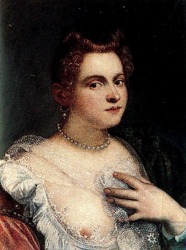 Un presunto ritratto ideale di Marietta Robusti, conservato al museo del Prado