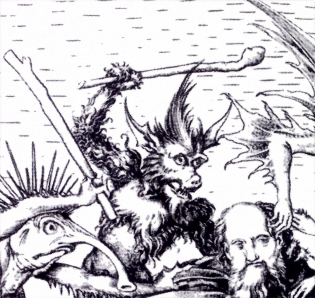Martin Schongauer, Tentazioni di sant'Antonio