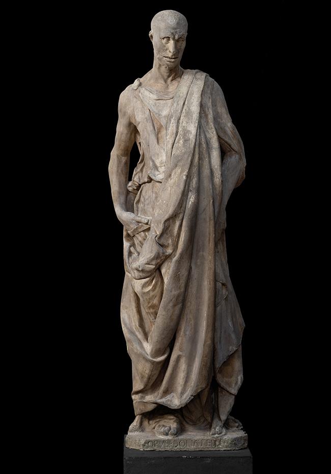 Museo dell'Opera del Duomo di Firenze, Donatello, profeta Abacuc detto Lo Zuccone, courtesy Opera di Santa maria del Fiore, foto Antonio Quattrone