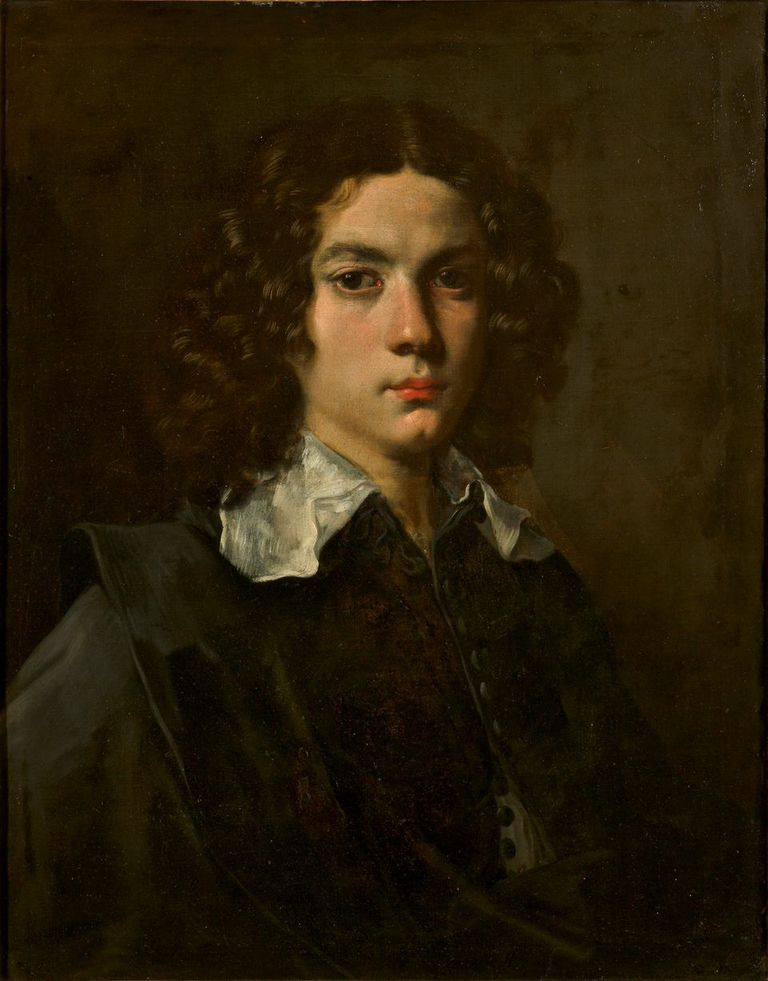 Ludovico Lana Ritratto di giovinetto olio su tela,  69 x 52 cm © Galleria Estense, Modena