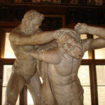 Uffizi: terminato il restauro di ERCOLE E NESSO di Giovanni Caccini