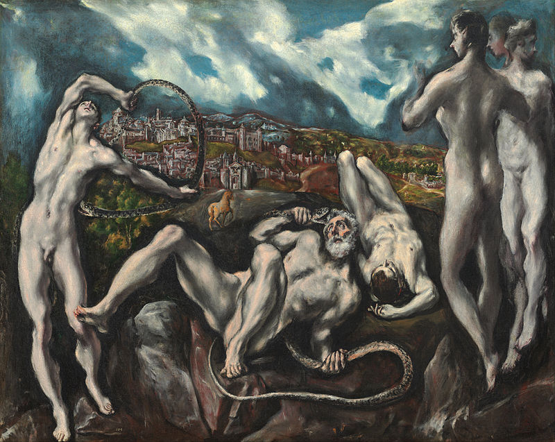 El Greco, Laocoonte1610-1614, 142× 193 cm, National Gallery of Art di Washington, DC