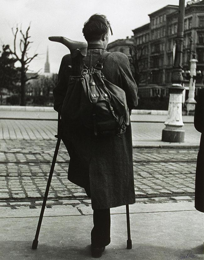 Ernst Haas, Vienna 1946-48 Museum der Moderne di Salisburgo