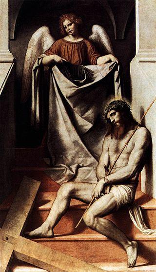moretto cristo e l'angelo