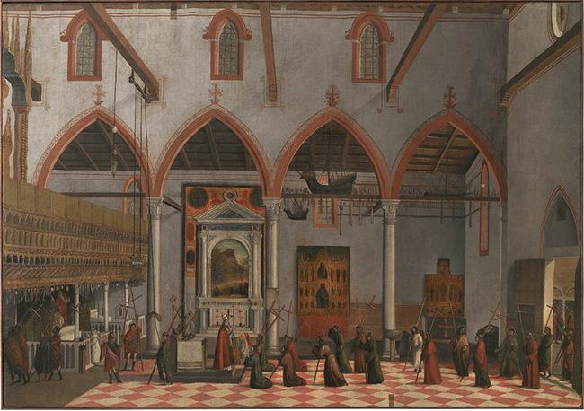 Vittore Carpaccio Apparizione dei Crocifissi del Monte Ararat Gallerie dell'Accademia, Venezia