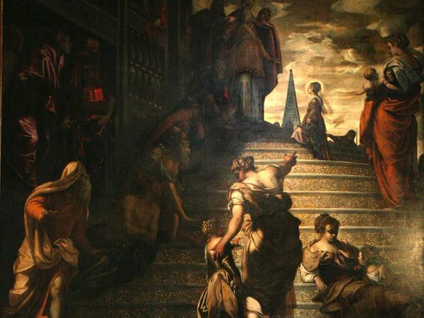Jacopo Robusti detto il Tintoretto, Presentazione di Maria al Tempio, 1552, Venezia, Chiesa della Madonna dell'Orto.