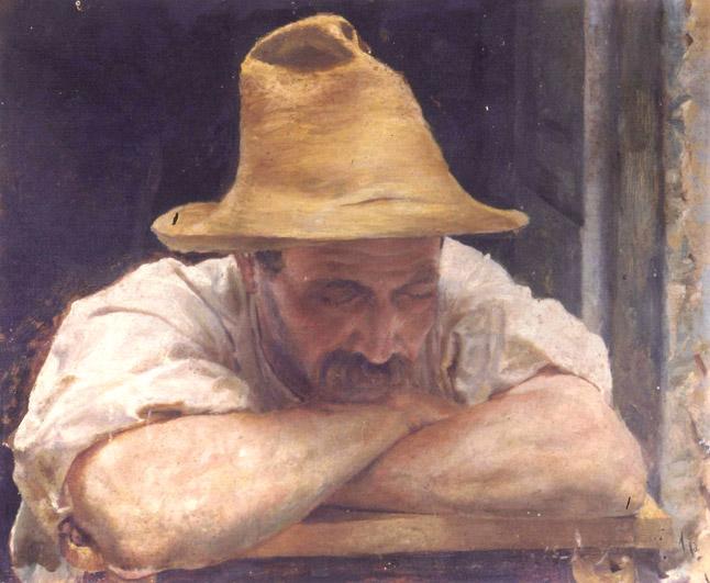 Giovanni Masotti (1873 - 1915), Contadino. Fondazione Collegio Artistico Venturoli, Bologna