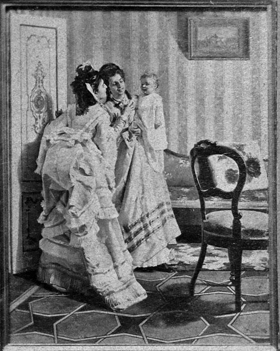 Luigi Busi (Bologna, 1837-1884), Gioie Materne. Foto fondo fotografico Belluzzi