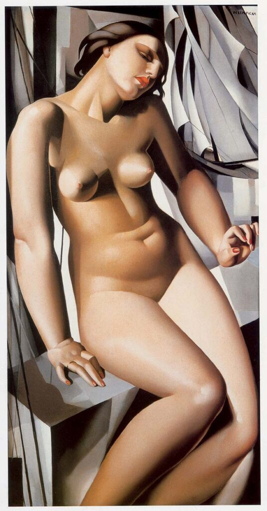 Tamara de Lempicka Nue aux voiliers, 1931 Olio su tela, 113,00x56,00x0,00 cm Collection of Bruce Lewin © Tamara Art Heritage. Licensed by MMI NYC/ ADAGP Paris/ SIAE Roma 2015