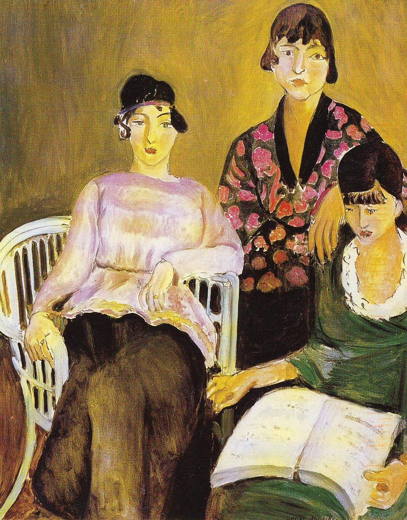 Henry Matisse, Le tre sorelle