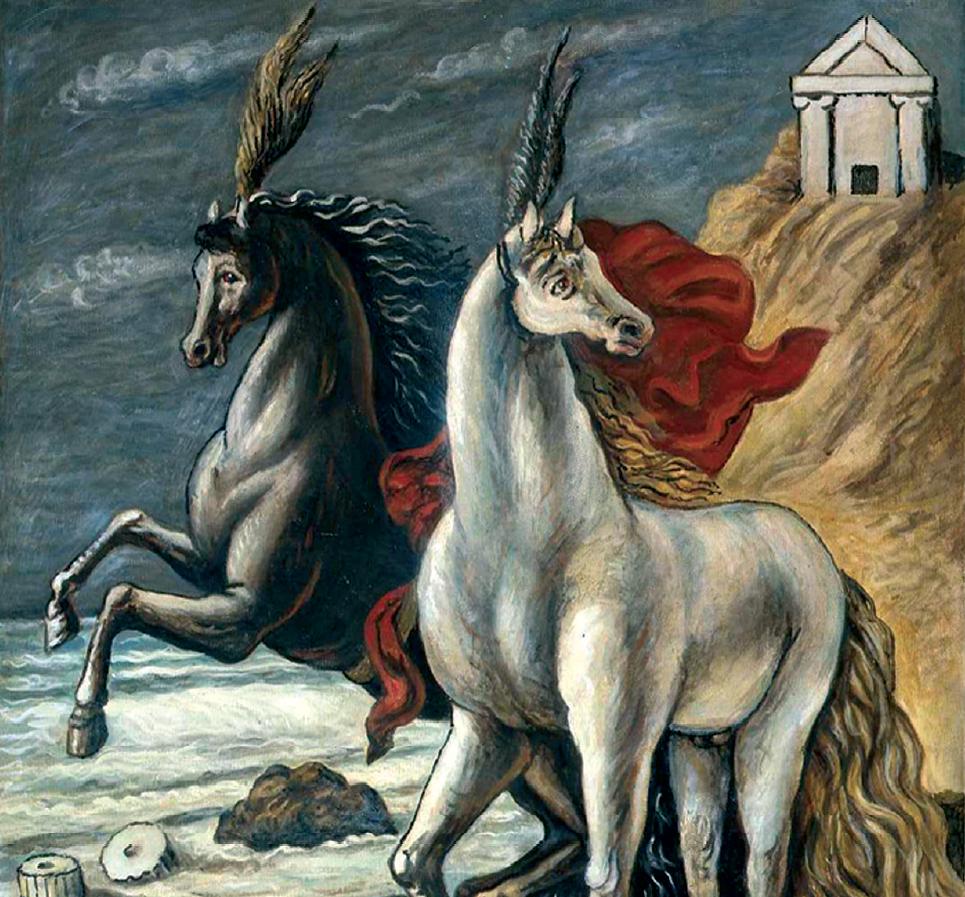 Perchè De Chirico dipingeva cavalli. E perché Marini, Messina e ...