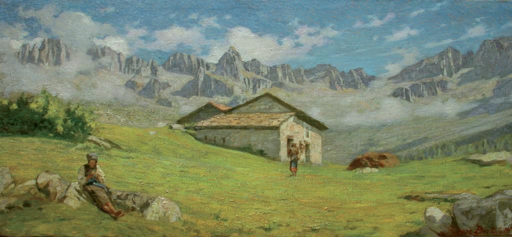 Dipingere o colorare l erba di un prato tecniche colori for Dipingere quadri moderni
