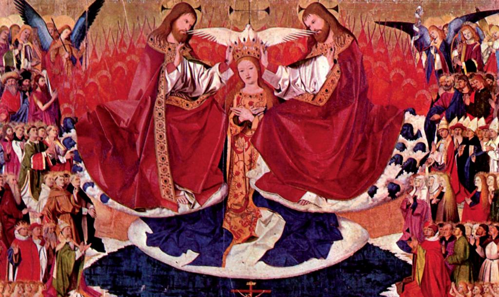 Enguerrand Quarton, Incoronazione della Vergine